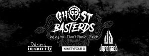 Ghost Basterds / NinetyFourX / Unforged / Definition of Insanity @ Don't Panic